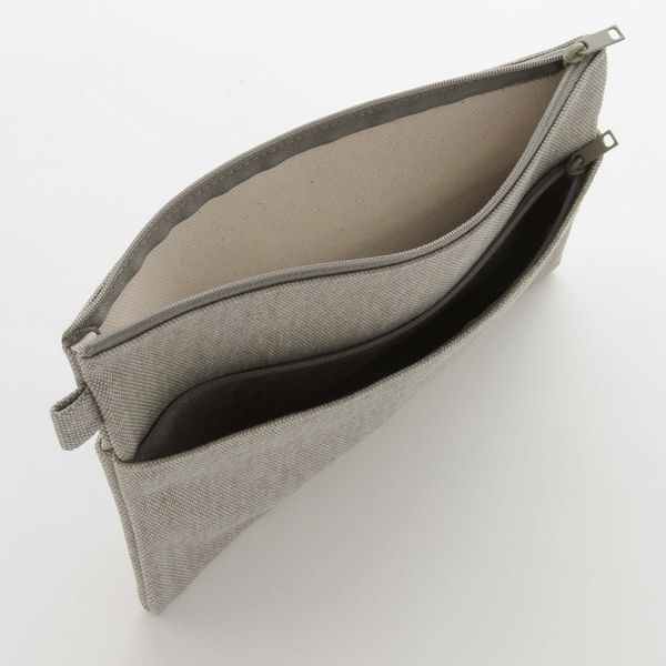 帆布小物ケース・平型