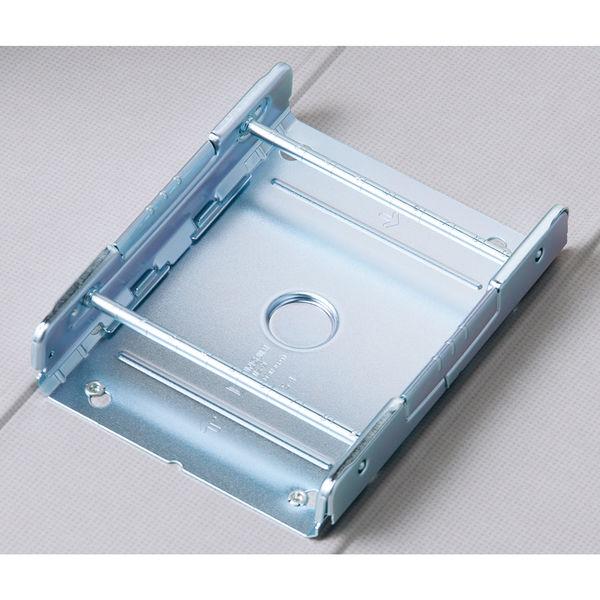アスクル パイプ式ファイル 両開き ベーシックカラースーパー(2穴)A4タテ とじ厚90mm背幅106mm ブルー 3冊