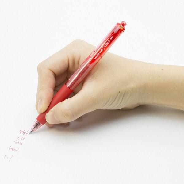 三菱鉛筆(uni) シグノRT極細 0.38mm 赤インク UMN103.15