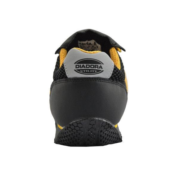 ドンケル R209004014 ディアドラ安全作業靴 キングフィッシャーKFー25 黒&イエロー 27.5cm 1足 (直送品)
