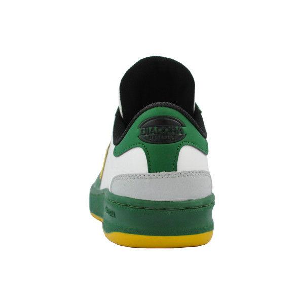 ドンケル R209014509 ディアドラ安全作業靴 キーウィ KWー651緑&イエロー&ホワイト 25.0cm 1足 (直送品)