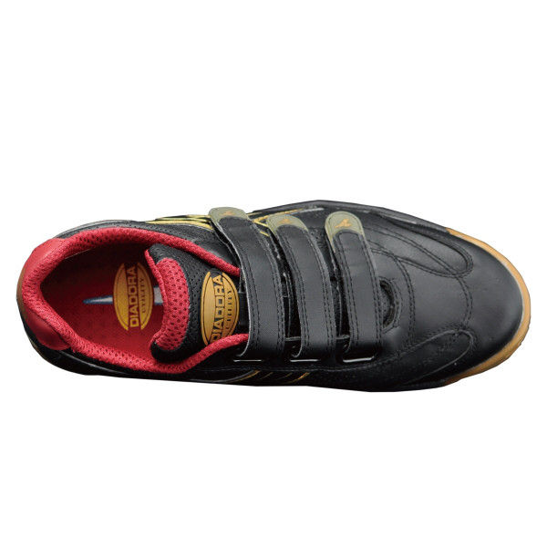 ドンケル R209016114 ディアドラ安全作業靴 ロビン RBー22 黒27.5cm 1足 (直送品)