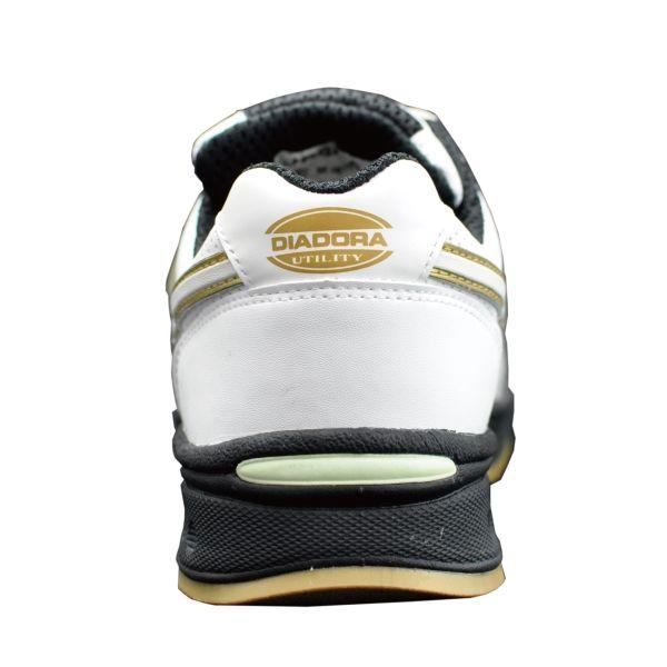 ドンケル R209016005 ディアドラ安全作業靴 ロビン RBー11 白23.0cm 1足 (直送品)