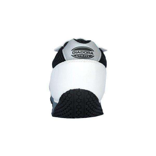 ドンケル R209012214 ディアドラ安全作業靴 キングフィッシャーKFー12 白&ブラック 27.5cm 1足 (直送品)
