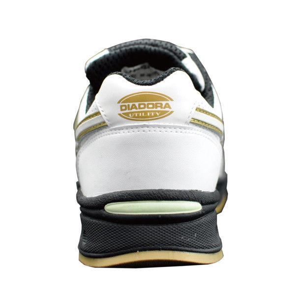ドンケル R209016010 ディアドラ安全作業靴 ロビン RBー11 白25.5cm 1足 (直送品)