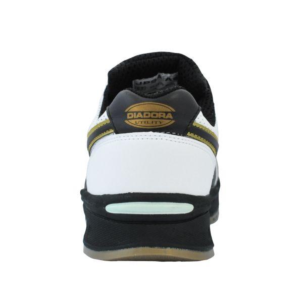 ドンケル R209014605 ディアドラ安全作業靴 ピーコック PCー12白&ブラック 23.0cm 1足 (直送品)