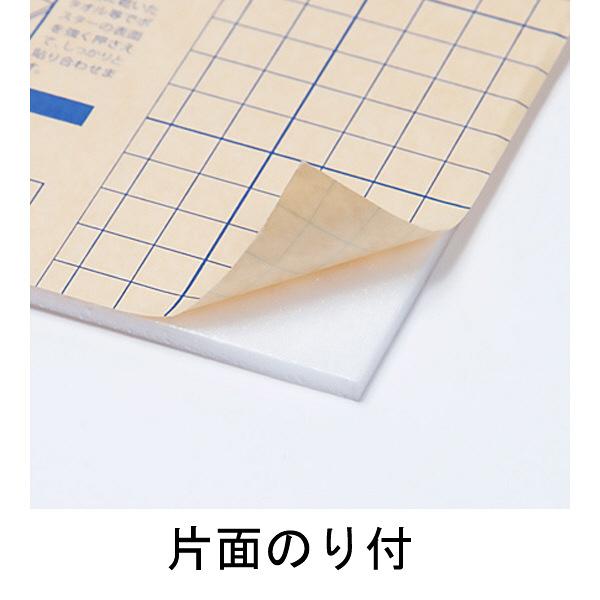 アスクル のり付パネル 厚さ5mm B1(1080×760mm) 5枚