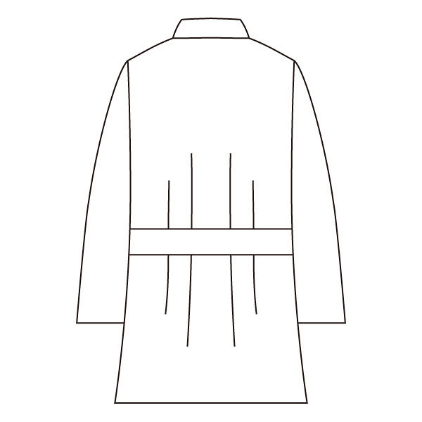 住商モンブラン メンズケーシー(8分袖 医務衣) グリーン M 72-707 (直送品)