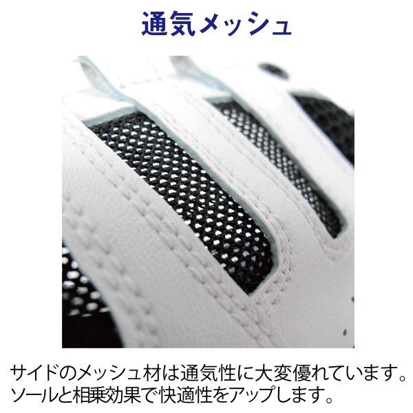 ミドリ安全 2125058812 先芯入りスニーカー スカイウォーカー MPVー01黒 26.5cm 1足 (直送品)