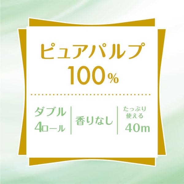 ソフティピュアホワイト ダブル 4ロール