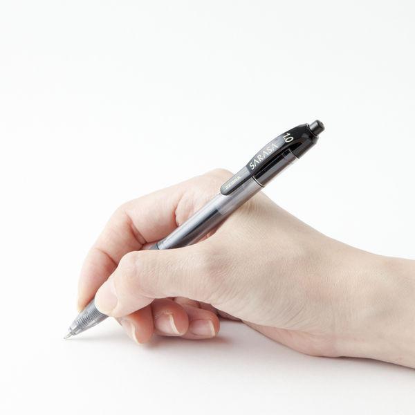 ゲルインクボールペン サラサ 1.0 黒