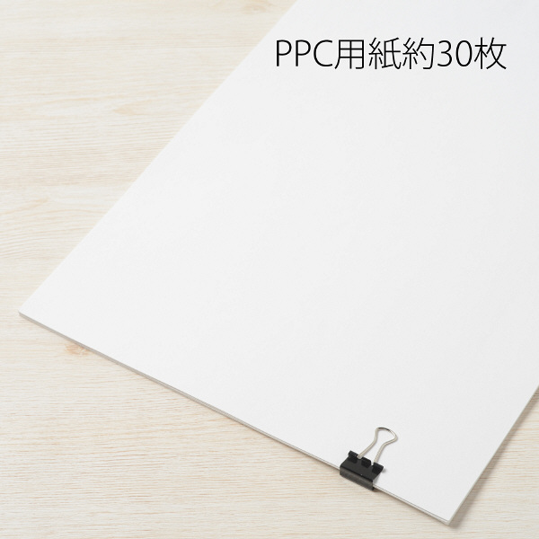 プラス ダブルクリップ CPー106 豆 黒 10個  CP-106 1箱