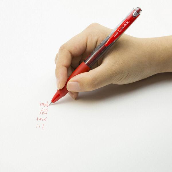 三菱鉛筆(uni) VERY楽ノック SN-100 1.0mm 赤
