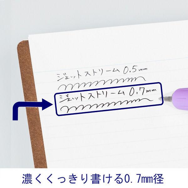 ジェットストリーム3色ボール 紫 3本