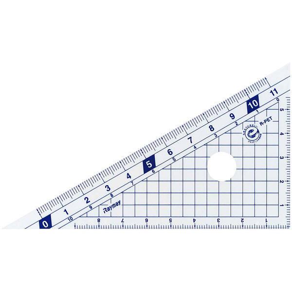 はし0(ゼロ)メモリ 三角定規