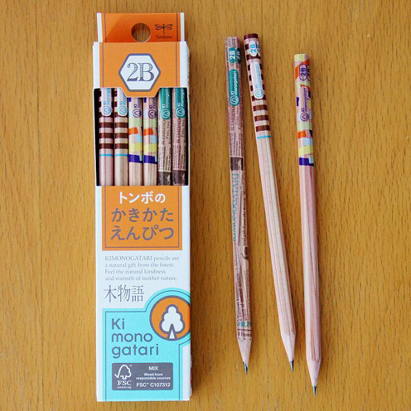 トンボかきかた鉛筆 F木物語 2B