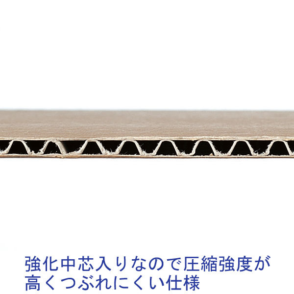 現場のチカラ 強化ダンボール A4×高さ190mm 1セット 30枚:10枚×3梱包