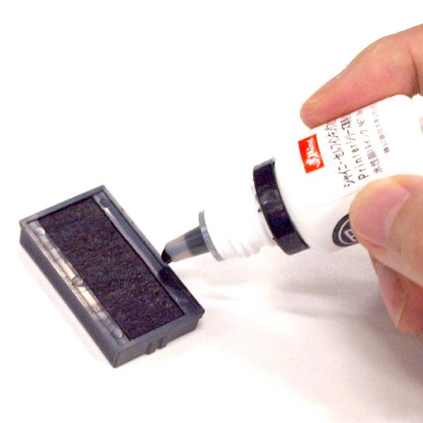 スタンプ台内蔵タイプ専用補充インキ 10ml 黒 TSK-81408