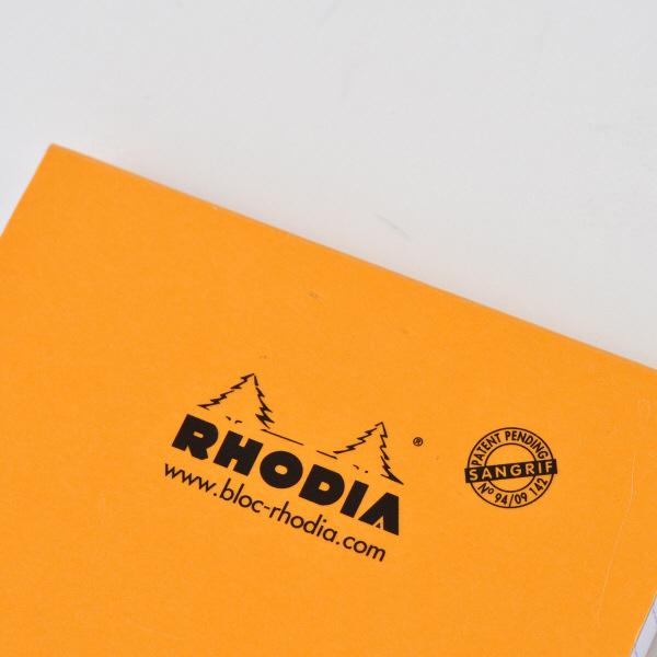 ロディア NO.16 横罫 オレンジ