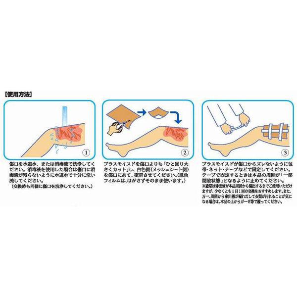 瑞光メディカル プラスモイストW2(200×125mm) WA2A 1箱(10枚入)(直送品)