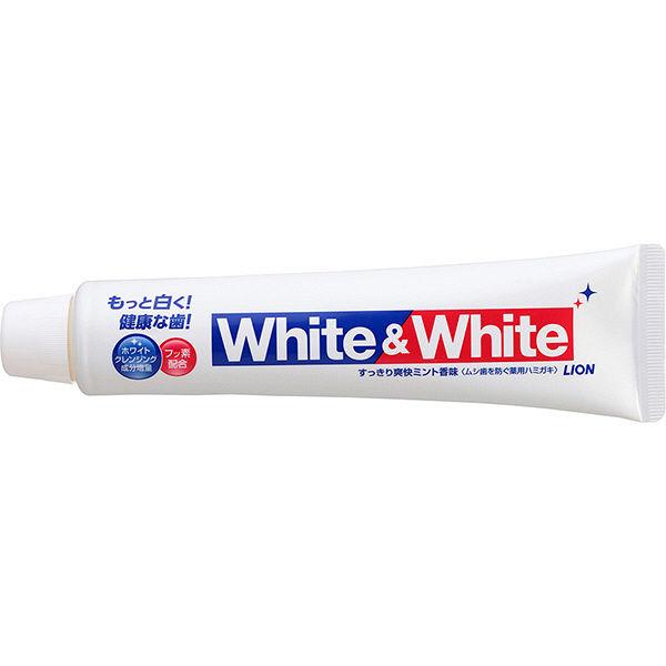 ライオン ホワイト&ホワイト