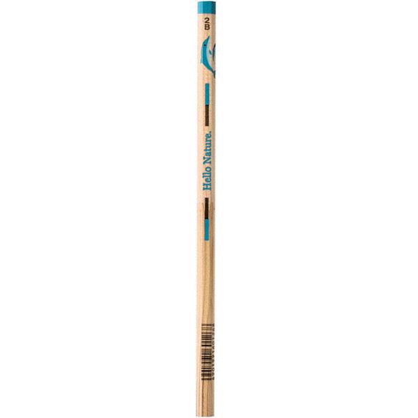 トンボかきかた鉛筆 イルカ 2B