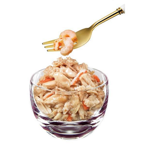 シーバR 小海老と蟹かま 4袋