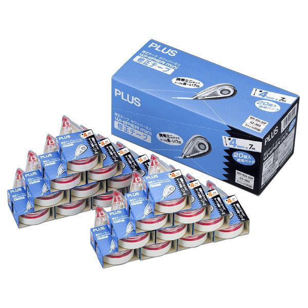 プラス ホワイパーミニ 4mm WH504-20P 1箱(20個入) (直送品)