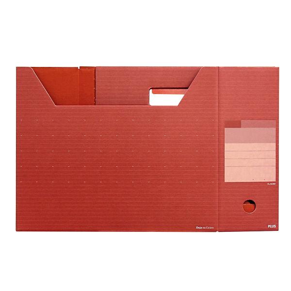 プラス ボックスファイル レギュラー BRR FL-023BF (直送品)
