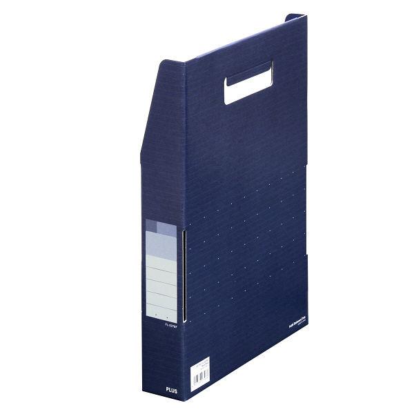 プラス ボックストレー デジャヴ A4 NVB FL-027BF (直送品)
