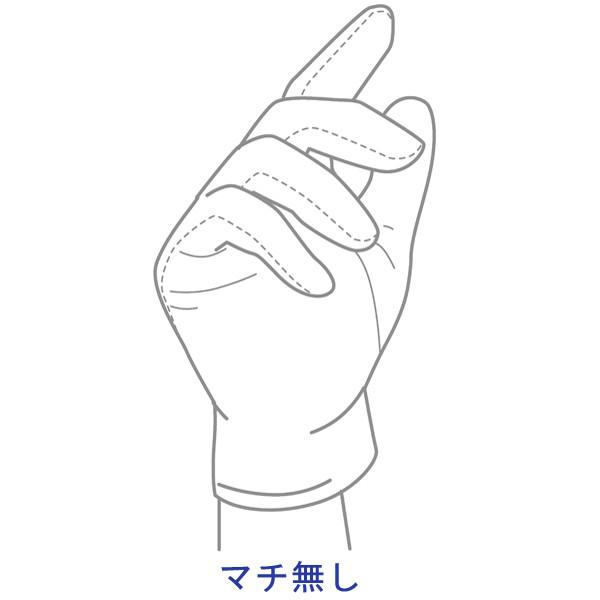 アスクル 「現場のチカラ」 品質管理用スムス手袋 マチ無し Sサイズ 白 006 1セット(1200双:12双入×100)