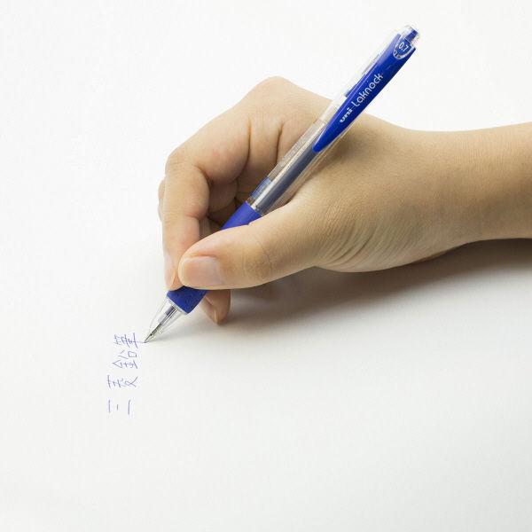 三菱鉛筆(uni) VERY楽ノック SN-100 0.7mm 青 1箱(10本入)