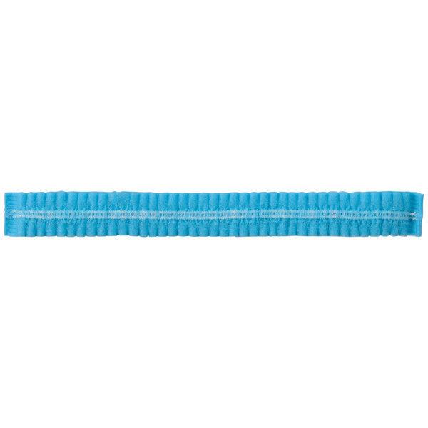 「現場のチカラ」 川西工業 使い切りキャップ ブルー 1セット(4000枚:100枚入×40箱)