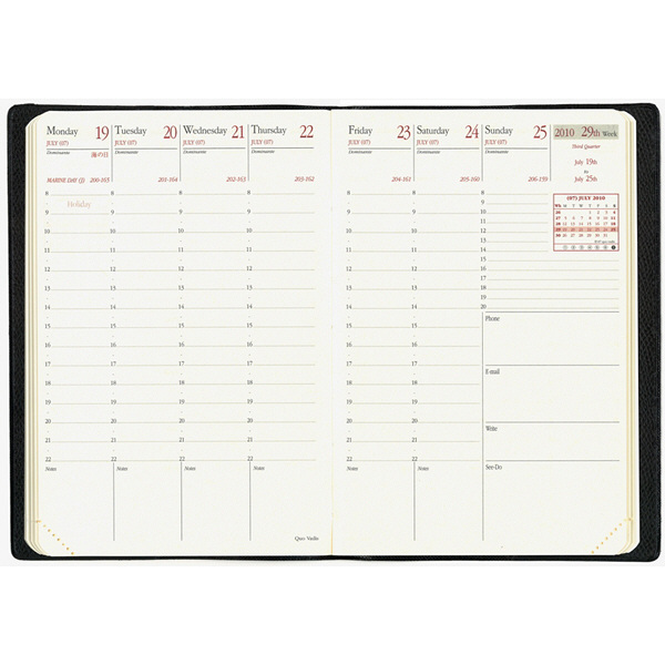 【2014年4月】クオバディス・ジャパン ビジネスプレステージ4 レフィル qv601rech-pe 1冊
