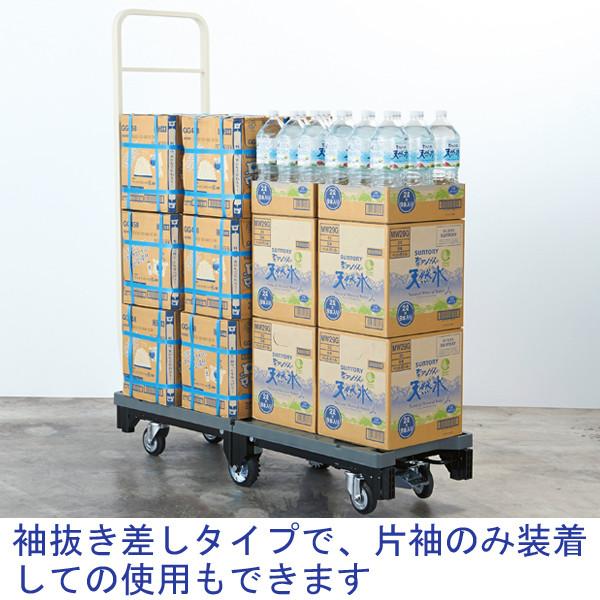 ストックカート(ブレーキ付) HN-6 (直送品)