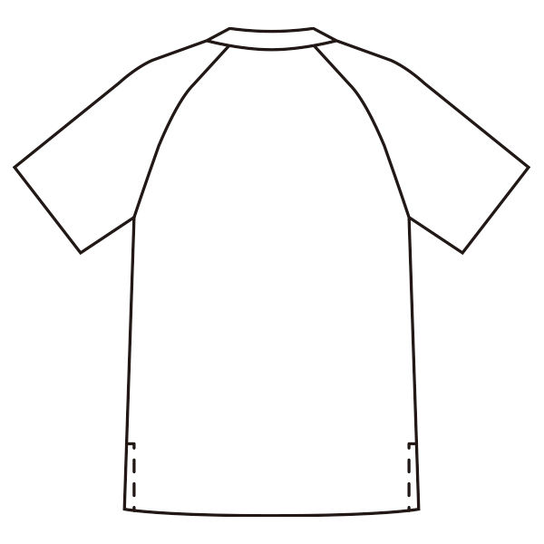 ミズノ ユナイト ニットスクラブ(男女兼用) ネイビー S MZ0084 医療白衣 1枚 (取寄品)