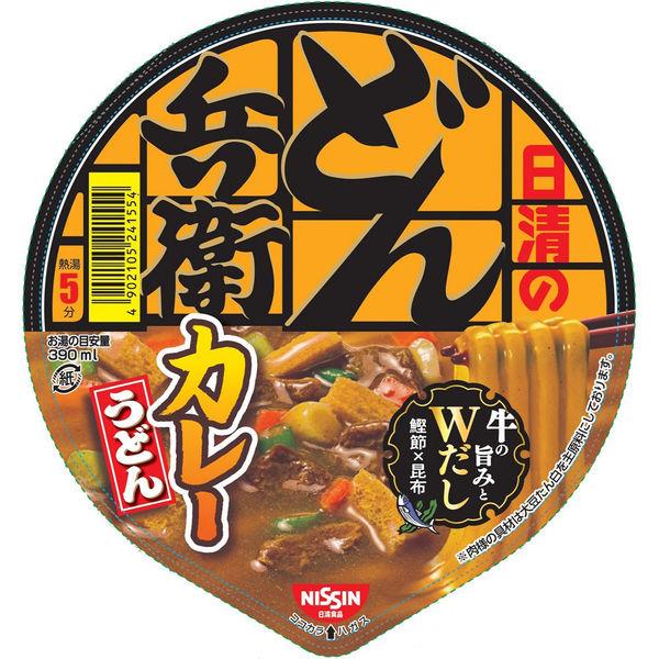 どん兵衛 カレーうどん(西日本版)3食