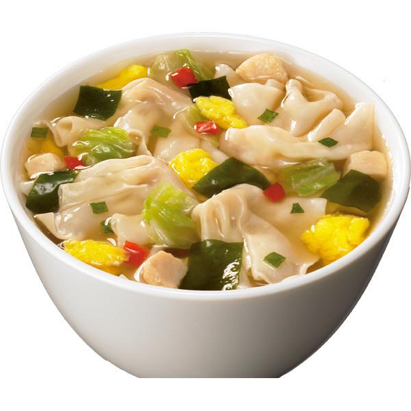 ホットワンタン おかずのスープ  3食