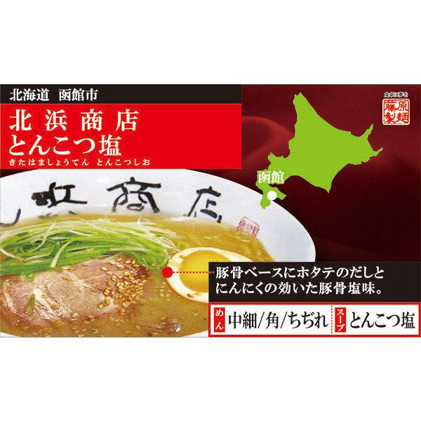 函館北浜商店とんこつ塩 1食