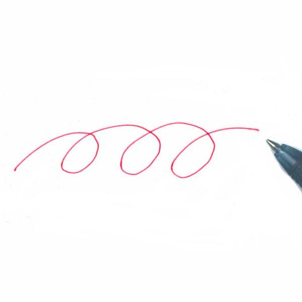 パイロット スーパーグリップノック 赤インク BGP-10R-RFR 1箱(10本入)