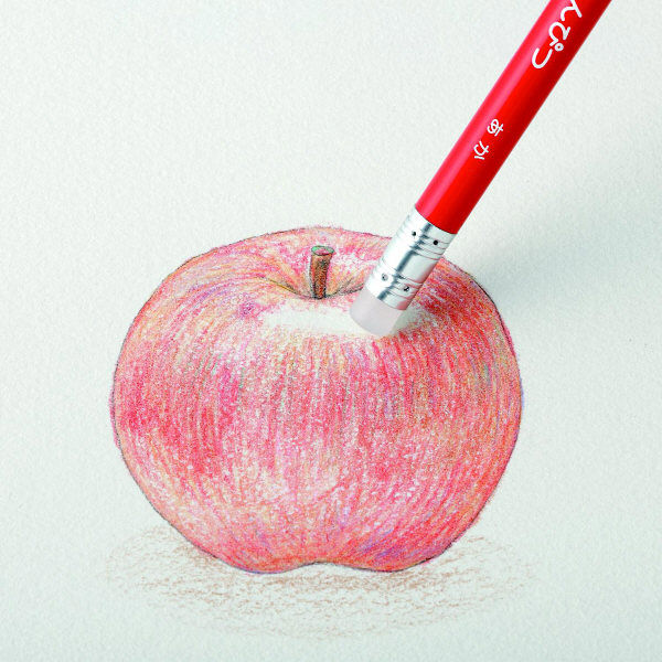 フリクション色鉛筆 赤