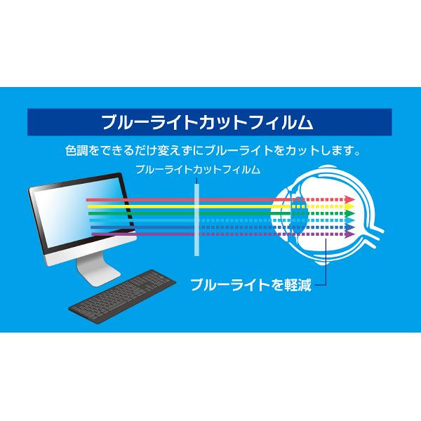 PC用ブルーライトカットフィルム125W