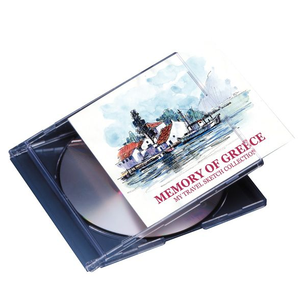 エーワン CD/DVDインデックスカード 兼用紙 51160 A4判  1セット:1袋(10シート)×5袋 (取寄品)