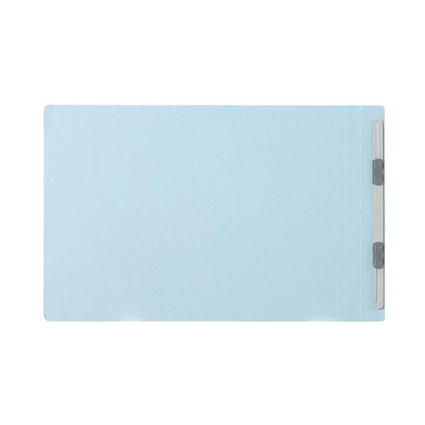 プラス フラットファイル樹脂製とじ具 A4ヨコ ロイヤルブルー No.022N 30冊