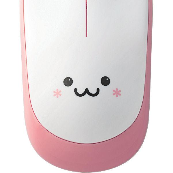 エレコム 無線マウス ピンクフェイス