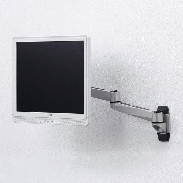 サンワサプライ 水平多関節液晶モニターアーム(壁面用) CR-LA1001N 1台 (直送品)