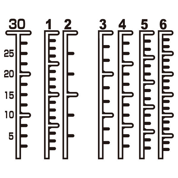 金鵄製作所 セーフティマーカー投薬瓶 30mL B4550-00000 1袋(200本入) (直送品)
