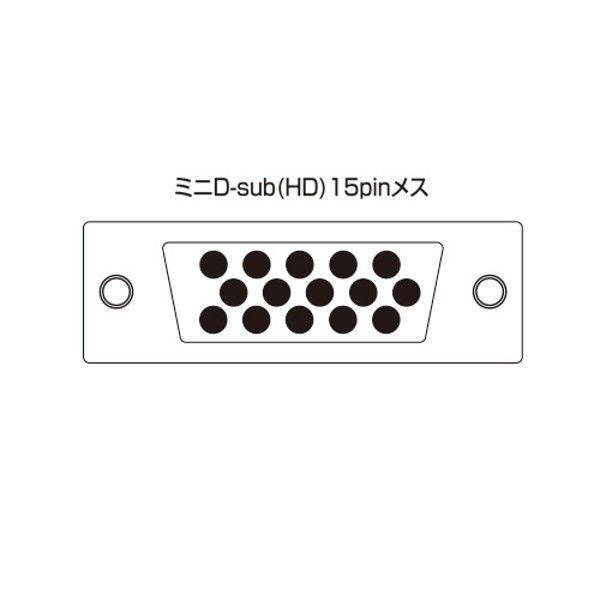 サンワサプライ 高性能ディスプレイ分配器(8分配) VGA-SP8 1個 (直送品)