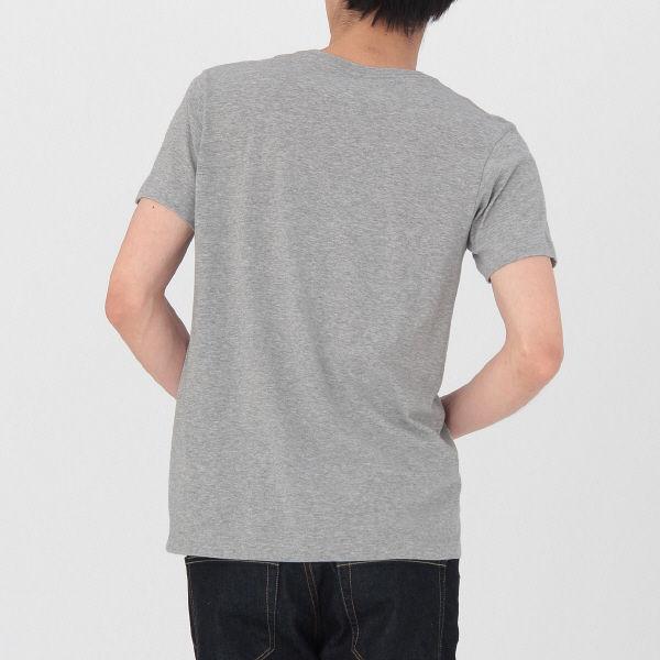 無印 Vネック半袖シャツ 2枚 紳士 L