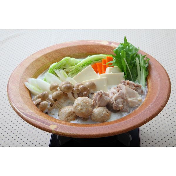 濃厚鶏白湯鍋つゆ 750g 2個